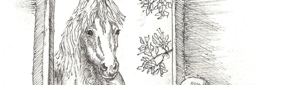 Hank Brouwer-van der Berg, Paard in eetzaal